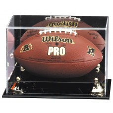 Golden Classic Football Display Case