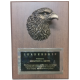 Eagle Head Plaque