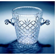Crystal Medallion Ice Bucket