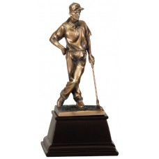 Bronze Male Golf Resin