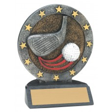 All Star Resin Golf Trophy