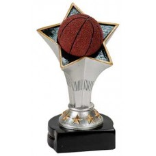 Basketball Rising Star Resin