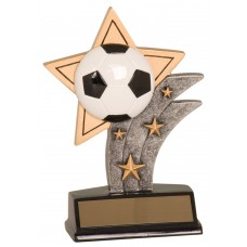 Soccer Sports Star Resin