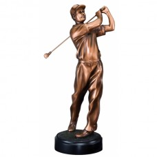 Golf Resin Sculpture