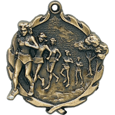 Women's Cross Country Medal