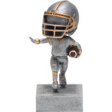 Bobblehead Football Resin