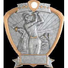 Female Golf Resin Shield