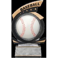 Gold Star Baseball Resin