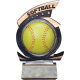 Gold Star Softball Resin