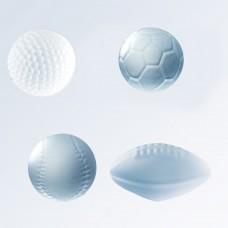 Glass Sports Balls