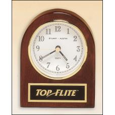 Rosewood Table Clock