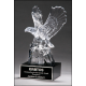 Crystal Eagle on Marble Base