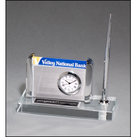 Clock/Pen/Business Card Set