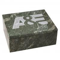 Jade Leaf Marble Box