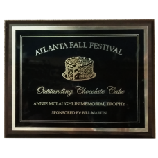 Custom Laser Engraved Plaque