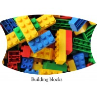 Building Blocks Face Mask