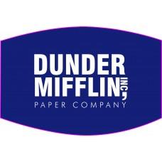 Dunder Mifflin Face Mask
