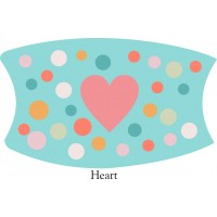 Hearts Face Mask