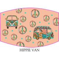 Hippie Van Face Mask