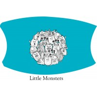 Little Monsters Face Mask