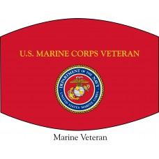 US Marines Veteran Face Mask