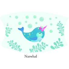 Narwhal Face Mask