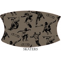 Skaters Face Mask