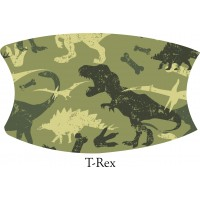 T-Rex Camo Face Mask