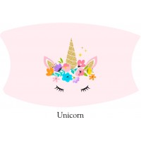Unicorn Face Mask