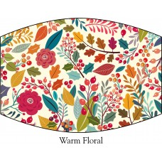 Warm Floral Face Mask