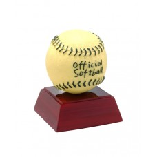 Yellow Softball Resin