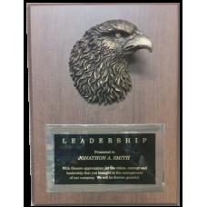 Eagle Head Plaque