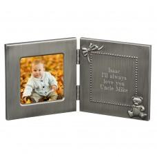 Brushed Hinged Baby Frame