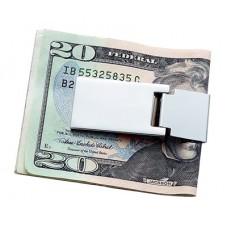 Spring Silver Money Clip