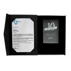 Crystal Award and Gift Box