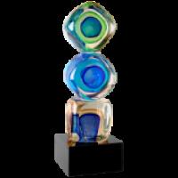 Cubed Art Glass