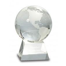 Crystal Globe on a Clear Base