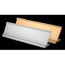 Desk Holder for Plastic or Metal Name Plate