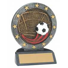 All Star Resin Soccer Trophy