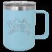 15 oz. Polar Camel Black Mug