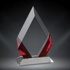 Red Cambridge Diamond Crystal