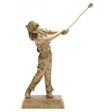 Female Golf Resin