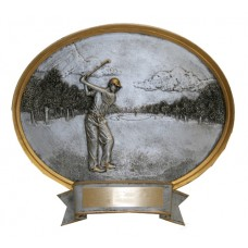 Male Golf Sports Legends Oval
