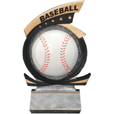 Gold Star Baseball Resin
