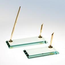 Single Pen Beveled Glass Stand